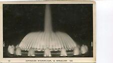 Spain Barcelona 1929 Expo real photo postcard