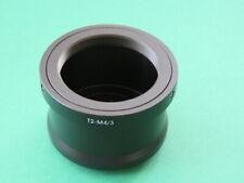 T2 Lens Mount Adapter ring T2-M4/3 Micro for Olympus PEN E-PL7, E-PL6, E-PL5