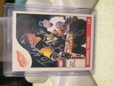 "Warren Young #152 signed autograph 1985-86 Topps  ""ONE OF A KIND"""