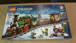 Lego Creator Winter Holiday Train (10254) Building Kit 734 Pcs New w/Box Wear