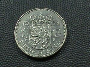 NETHERLANDS    1 Gulden   1971  **