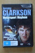 Jeremy Clarkson Motorsport Mayhem (DVD, 2008)     Preowned (D189)