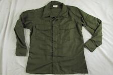 Vtg NOS 70s 1971 Vietnam War Hot Weather Flyers Shirt Medium Short Nomex Nylon