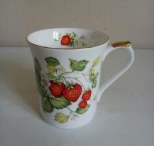 "Queen's ""Virginia Strawberry"" Bone China Mug"
