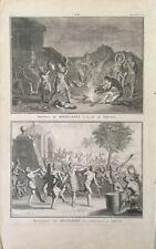 BERNARD PICART (1673-1733 Paris)Réjouissances méxique ésotérique sorcier magie