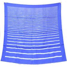 Châles/écharpe bleu pour femme, en 100% soie