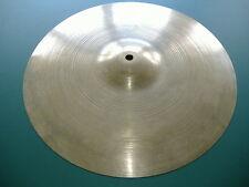 "Vintage Late 1960's or Early 1970's Avedis Zildjian 18"" Crash Ride Drum Cymbal !"