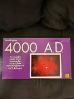 """Vintage """"4000 A.D. """" board game by Waddingtons 1972"""