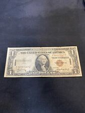 New Listing1935 A Us $1 Silver Certificate Hawaii Paper Money Bank Note Bill