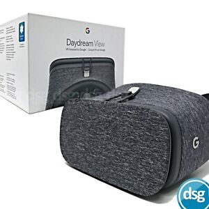 Google Daydream View Grey Slate VR Headset Virtual Reality with Controller