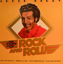"""CHUCK BERRY - THE STORY OF ROCK AND ROTOLO 12"""" LP (W22)"""