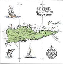 St. Croix & West Indies Nautical Theme Glazed Ceramic Tile Hot Plate Tiles
