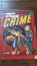 2017 SDCC COMIC CON EXCLUSIVE FOX POSTER THE SIMPSONS TRUE CRIME SPECIAL EDITION