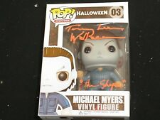 TOMMY LEE WALLACE Signed Michael Myers FUNKO POP Figure Halloween THE SHAPE