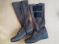 Damen Schuhe Stiefel ARCHE Gr 42 braun schwarz Leder Top