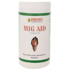 Homeopathic Bakson Mig Aid 200 Tablets Free Shipping