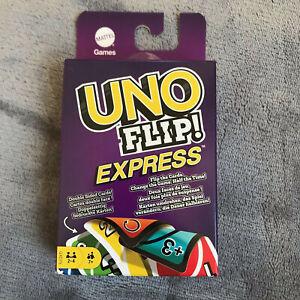 UNO flip! Express Kartenspiel Gesellschaftsspiel neu Mattel 2-4 Spieler