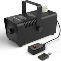 400W Fog Smoke Effect Machine Equipment w/ Remote Control (Black)