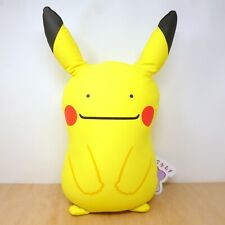 """Official Pokemon Center 2018 - Pikachu Ditto Cushion Plush Soft Toy Japan 20"""""""