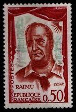Variété (Vert Très Pâle) de RAIMU, Neuf ** = Cote 25 € / Lot Timbre France 1304a