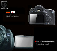 PT27 9H Tempered Glass HD Screen Protector for Canon EOS 600D Rebel T3i Camera