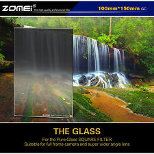 ZOMEI 100mm Glass ND8 Graduated Grey Neutral Density Square Filter for Camera
