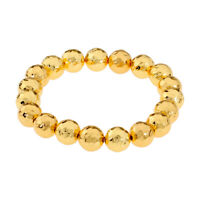 Gorjana Taner Gold Beaded Stretch Bracelet 183204G