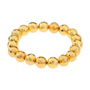 Gorjana Taner Gold Beaded Stretch Bracelet 183204G