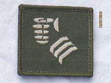 20th Armoured Brigade,(Faust),TRF, Patch,Abzeichen,gestickt,oliv,55x55mm,Klett