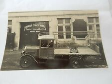 More details for lorry postcard dunnikier coach works kirkcaldy amazing real photo original