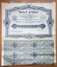 Paris VIII è 101 Av des Champs Elysées - Déco Hotel d'Albe(Magasin Vuitton) 1926