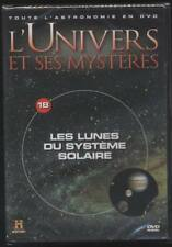 New dvd the moons in the solar system l universe and its mysteries # 18 astronomy
