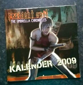 Resident Evil Biohazard Umbrella Chronicles Calendar 2009 Capcom