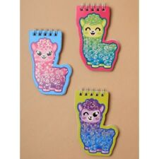 Pack of 3 Alpaca Design Small Notepads Party Bag Stocking Filler Novelty Gift