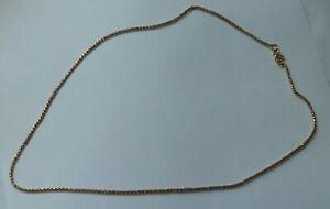 Elegante Goldkette Halskette Venezianerkette 583 (585) Russisches Gold