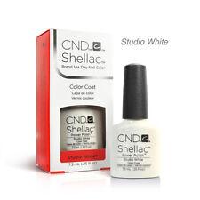 CND Shellac UV Gel Nail Polish - Studio White 0.25oz