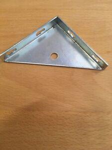 8 x Bettwinkel , Stuhlwinkel Metall Eckwinkel  70 x 70 mm