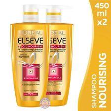 Pack 2 : L'OREAL PARIS Elseve 6 Oil Nourish Ultra Nourishing Shampoo 450ml