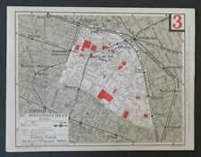 Carte taride 3ème III ARRONDISSEMENT PARIS Temple Arts et Metiers Réaumur Rambut
