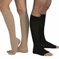 Compression Socks Foot Pain Relief Support Stockings Men Women 8-21mmHg Open Toe