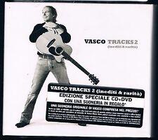 VASCO ROSSI TRACKS 2 (INEDITI & RARITA')  CD + DVD DELUXE ED. F.C. SIGILLATO!!!