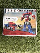 KRE-O Transformers 2 In 1 Optimus Prime Set 311443 Hasbro NEW