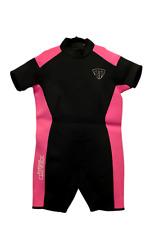 Women's Rear Zip Shorty Wetsuit 3MM  - Size 6X Model 2600