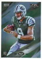 2015 Topps Fire Rookies Silver Foil Parallel RC #35 Bryce Petty NY Jets