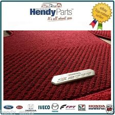 GENUINE Honda S2000 PREMIUM 4 Piece CARPET Mats RED RIGHT HAND DRIVE JDM UK