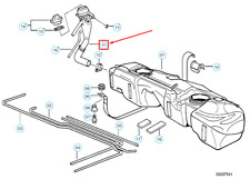 BMW 3 Compact E36 Plastique Réservoir Essence Pipe 16111183714 1183714 Neuf Vrai