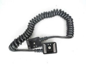 Contax Genuine TLA Extension Cord 100 Camera Flash Cable