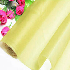 6 yards sunshine pure silk organza new dress fabric 140cm tulle thin voile
