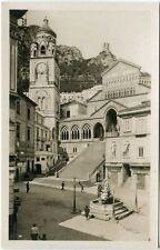 1920/40 Amalfi - Esterno del Duomo, Piazza e passanti - FP B/N ANIM