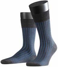 Falke Mens Shadow Socks - Anthracite/Blue